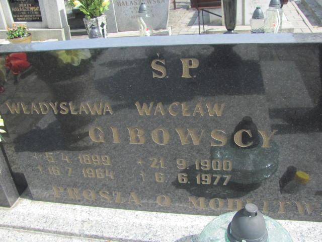 Wacław Gibowski - cmentarz komunalny w Kluczborku