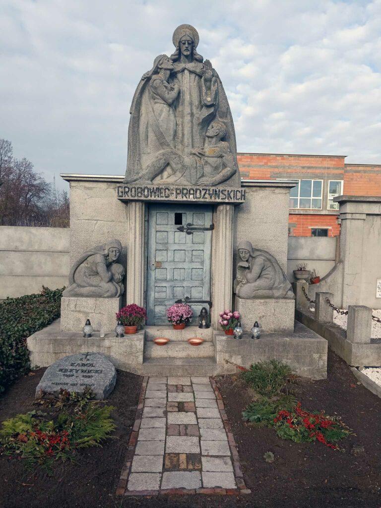 Andrzej Prądzyński - cmentarz parafialny we Wrześni (zdjęcie udostępnił Remigiusz Maćkowiak)