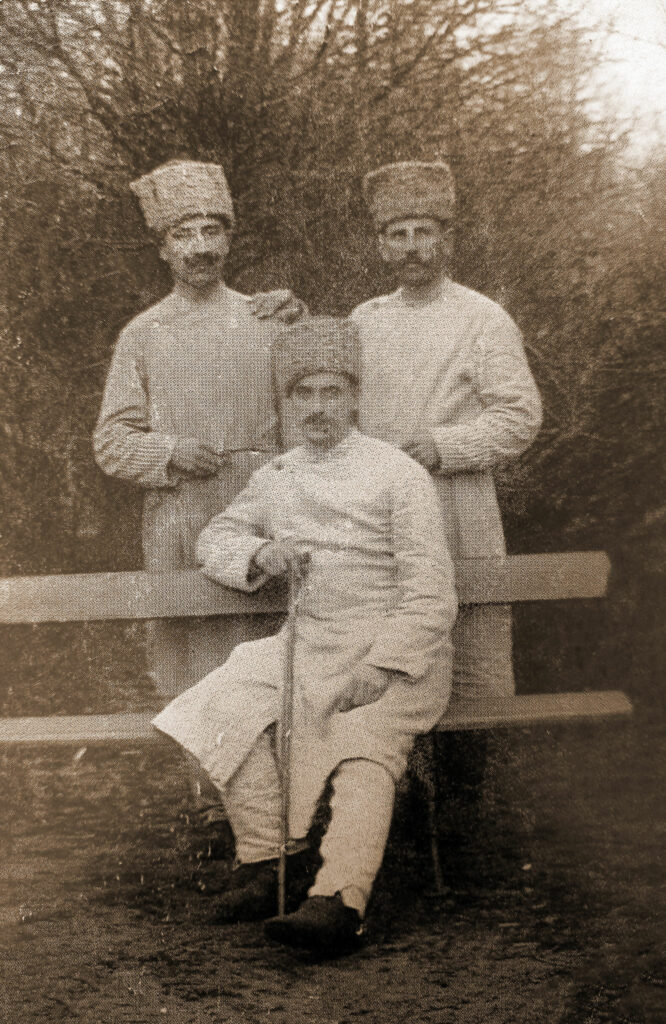 Czesław Purol w niewoli rosyjskiej (zdjęcie udostępniła wnuczka Aldona Błażejewska)