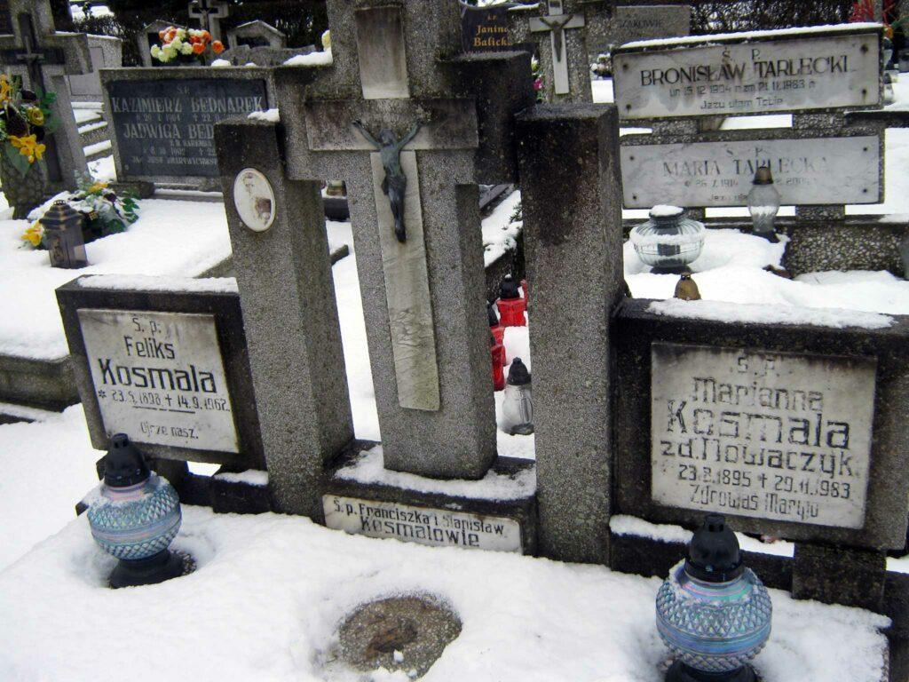 Feliks Kosmala - cmentarz komunalny we Wrześni (zdjęcie udostępnił Remigiusz Maćkowiak)