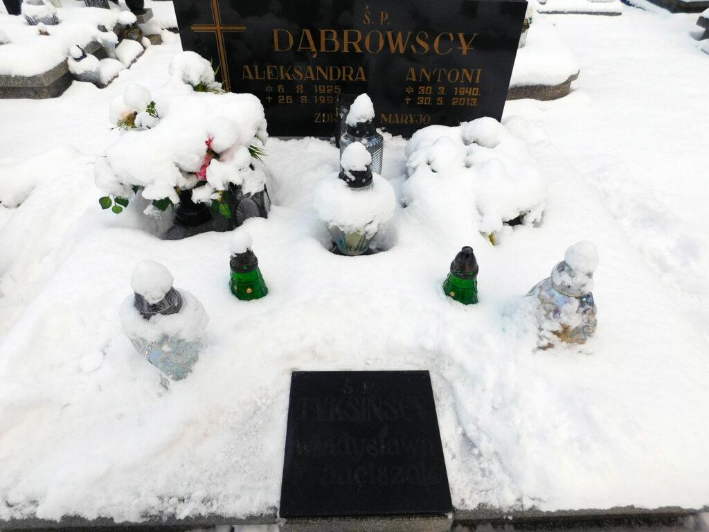 Franciszek Tyksiński - cmentarz komunalny we Wrześni (zdjęcie udostępnił Remigiusz Mackowiak)