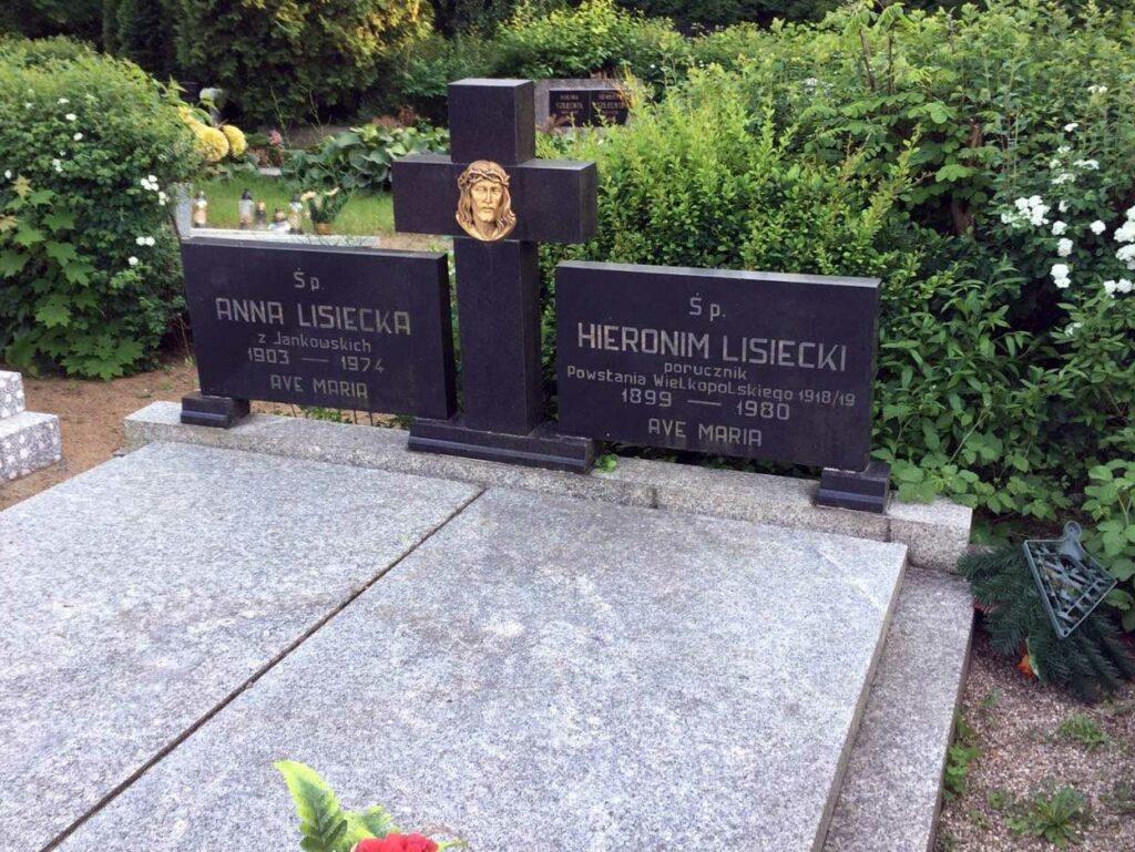 Hieronim Lisiecki - cmentarz Junikowski w Poznaniu