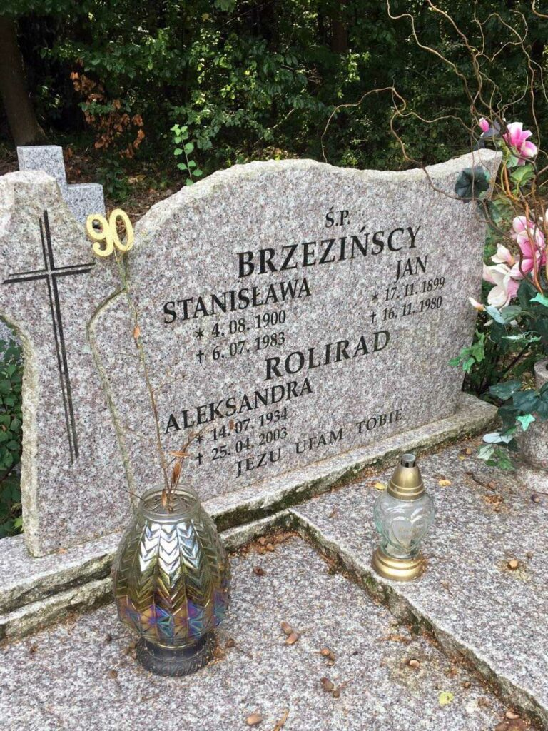 Jan Brzeziński - cmentarz komunalny na Miłostowie