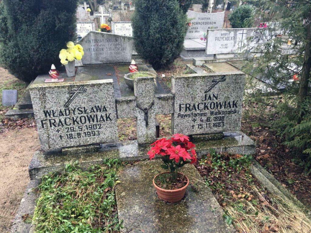 Jan Frąckowiak - cmentarz Junikowski w Poznaniu