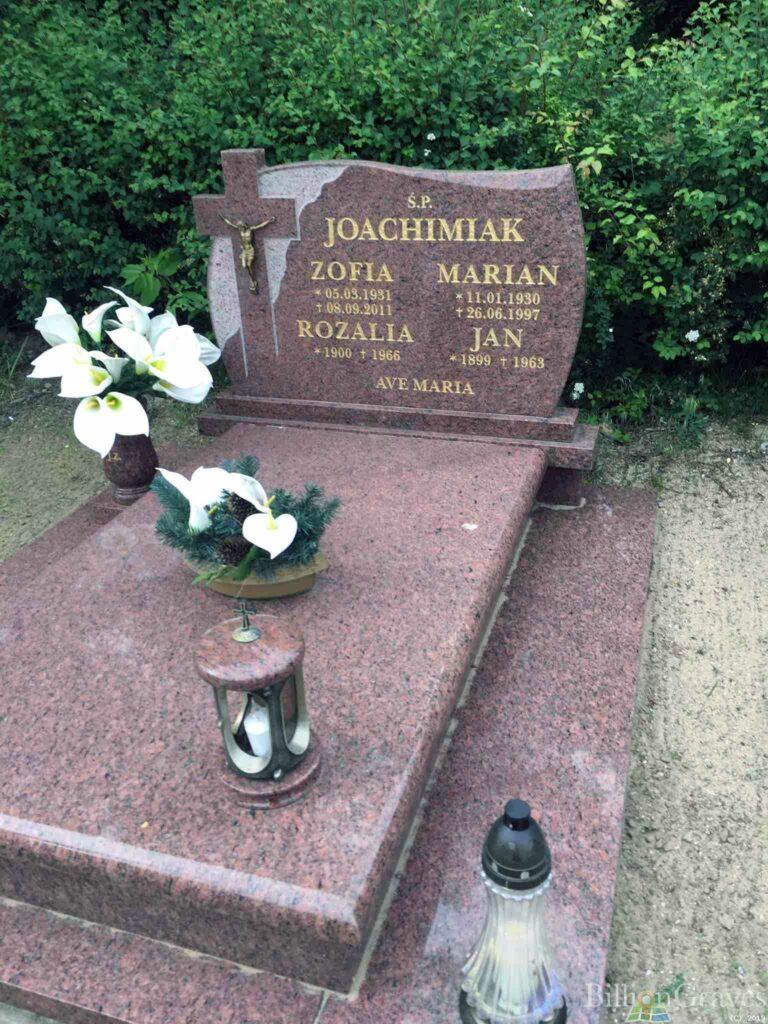 Jan Joachimiak - cmentarz komunalny na Junikowie