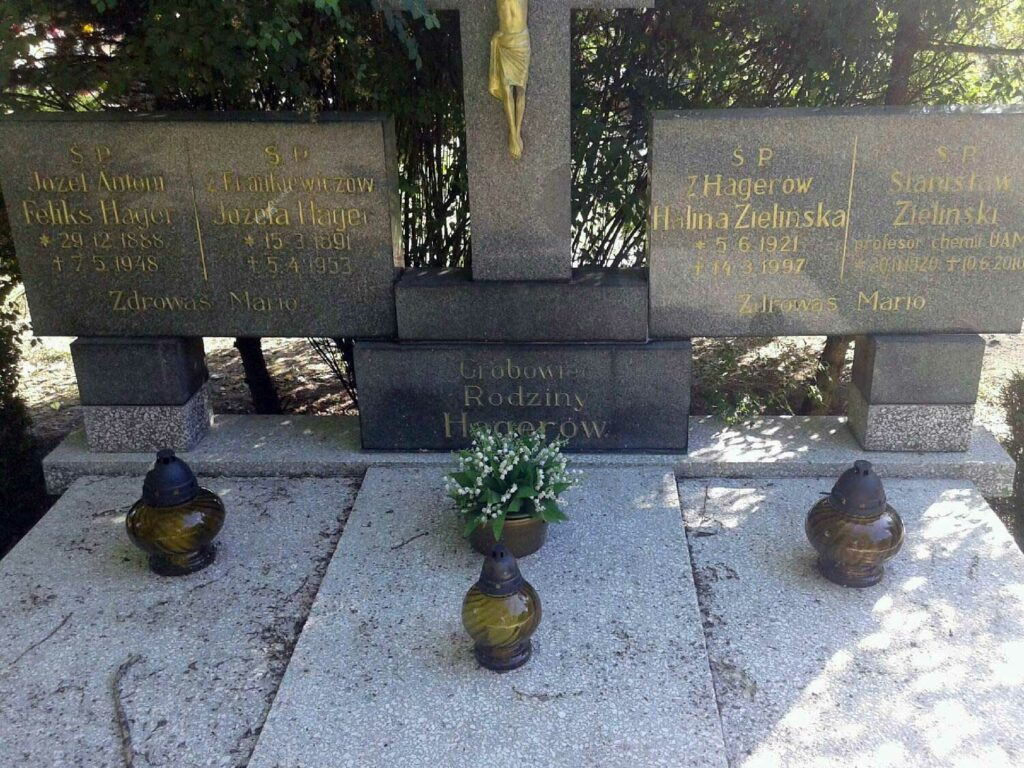 Józef Feliks Antoni Hager - cmentarz komunalny na Miłostowie