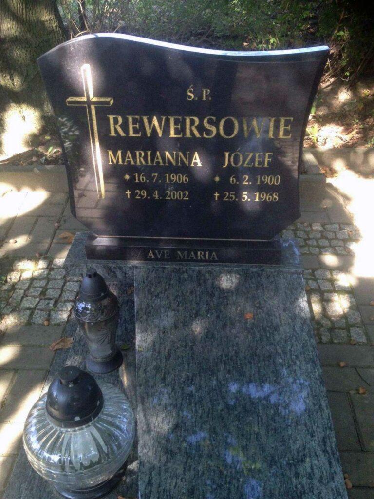 Józef Rewers - cmentarz parafialny Morasko