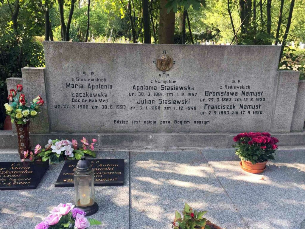 Julian Stasiewski - cmentarz Junikowski w Poznaniu
