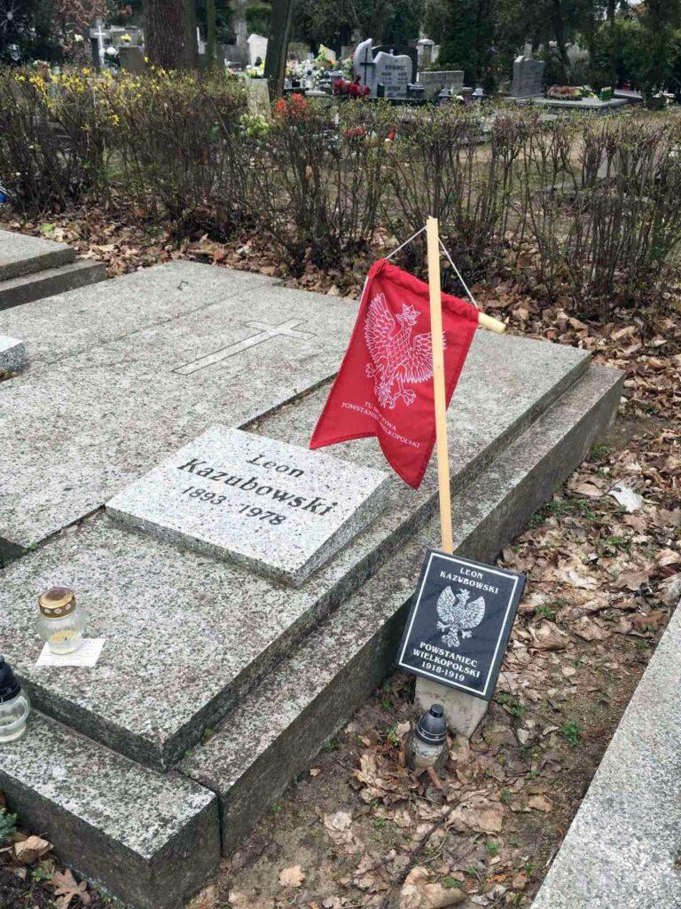 Leon Kazubowski - cmentarz Junikowski w Poznaniu