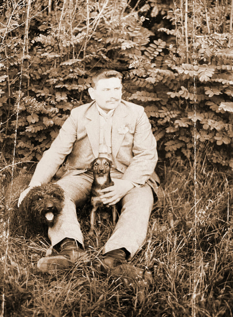 Ludwik Patyk (zdjęcie udostępnił Remigiusz Maćkowiak)