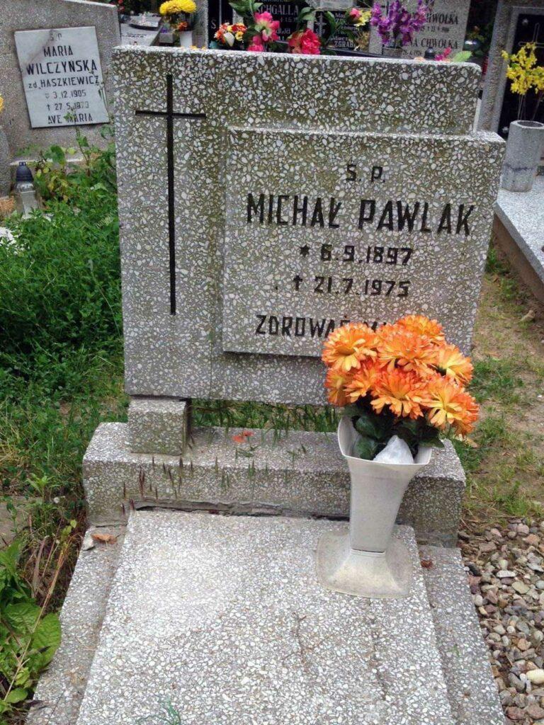 Michał Pawlak - cmentarz Górczyński w Poznaniu
