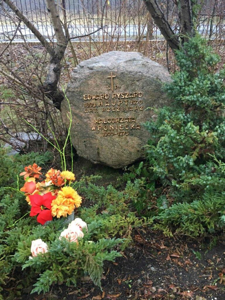 Ryszard Edward Haupt - cmentarz Junikowski w Poznaniu