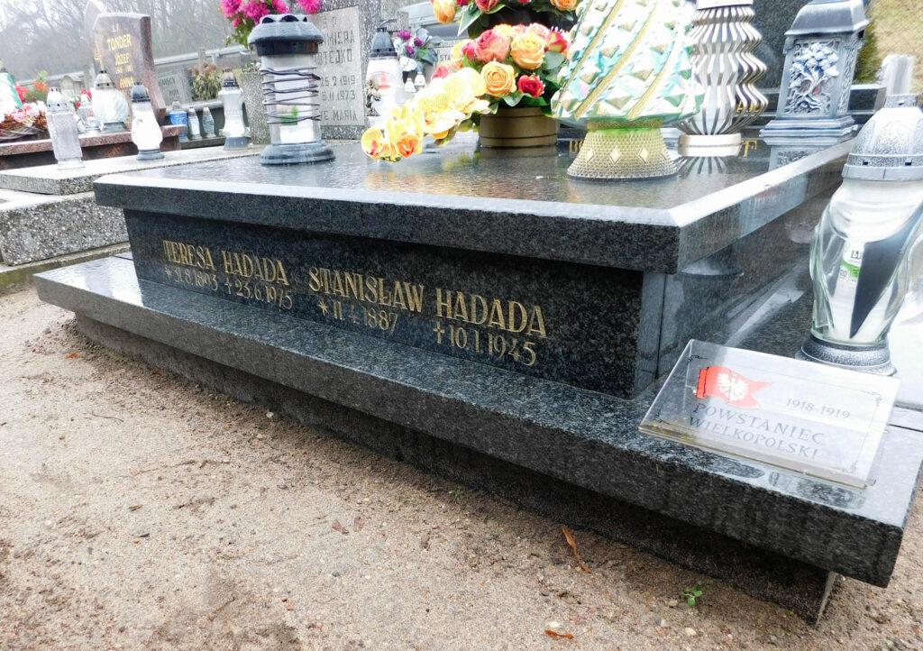 Stanisław Hadada - cmentarz parafialny w Nekli (zdjęcie udostępnił Remigiusz Maćkowiak)