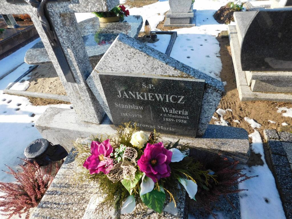 Stanisław Jankiewicz - cmentarz parafialny w Graboszewie (zdjęcie udostępnił Remigiusz Maćkowiak)