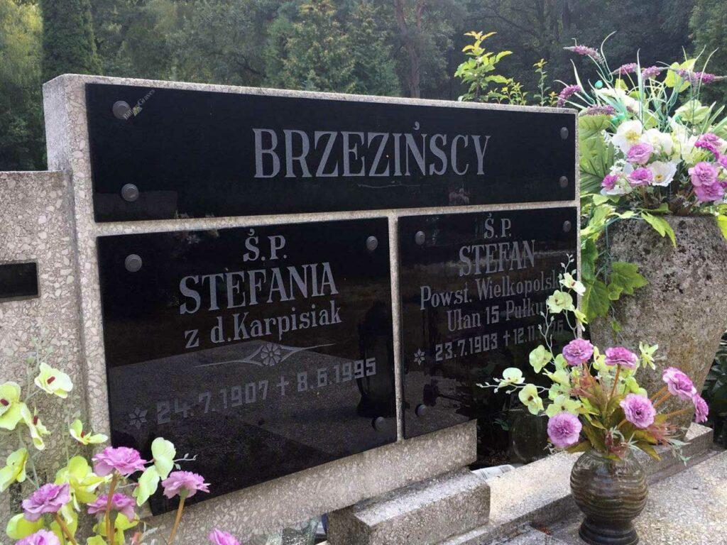 Stefan Brzeziński - cmentarz komunalny na Miłostowie