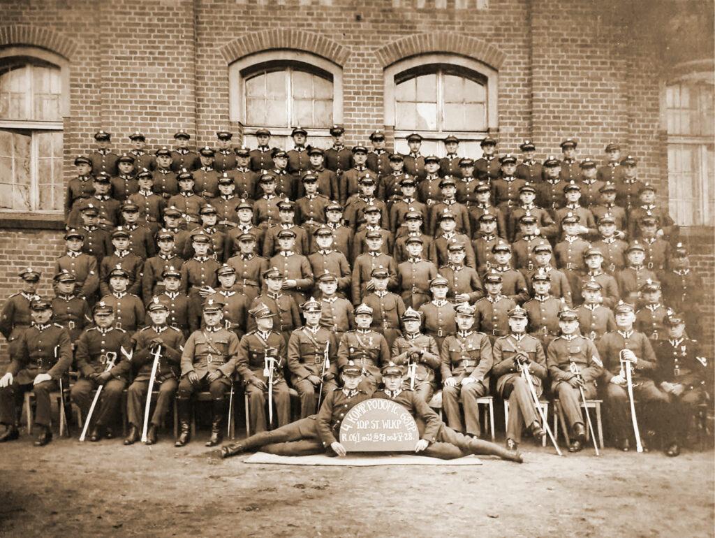 Sylwester Przybylski - Kompania Podoficerów 68.pp 10 Pułk Strzelców Wielkopolskich od 21.09.1927 do 03.05.1928 (zdjęcie udostępnił Adam Banaszak)