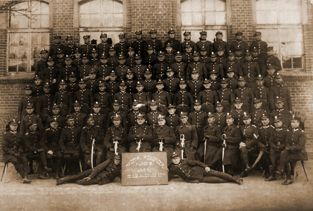 Sylwester Przybylski - 4. Kompania Podoficerów, Klasa B, 68 pp, od 03.12.1926 do 20.04.1927 (zdjęcie udostępnił Adam Banaszak)