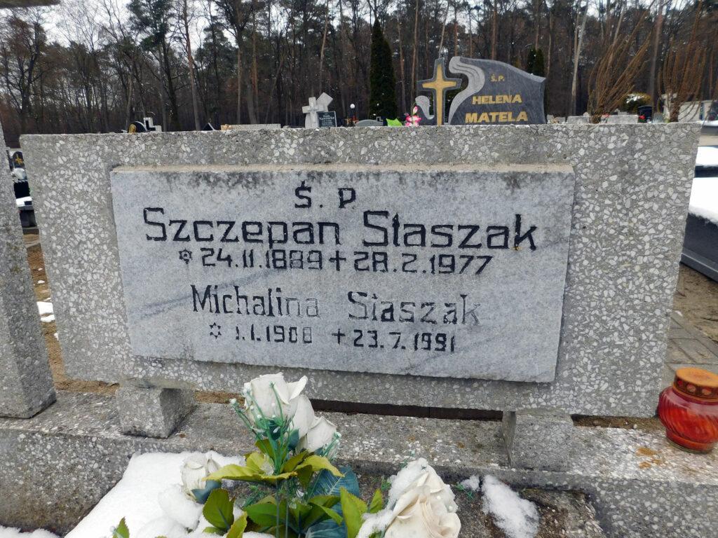 Szczepan Staszak - cmentarz komunalny we Wrześni (zdjecie udostępnił Remigiusz Maćkowiak)