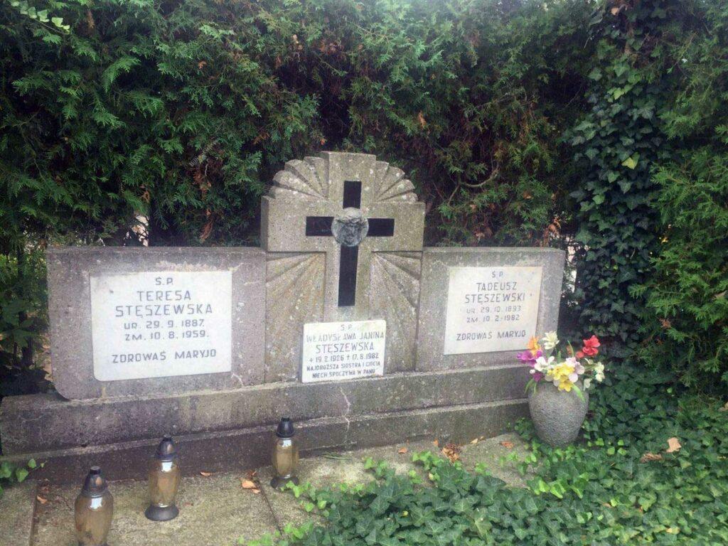 Tadeusz Stęszewski - cmentarz Junikowski w Poznaniu