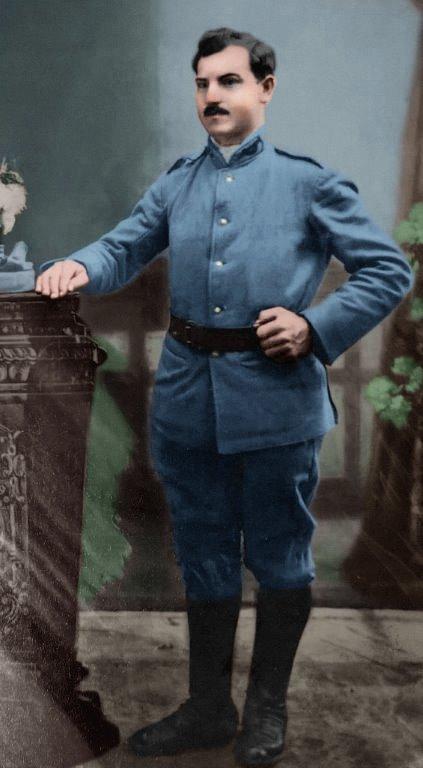Aleksander Wętkowski, brat Wacława (zdjęcie udostępnił Janusz Dzikowski)