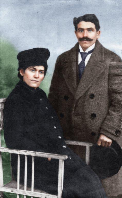 Wacław Wętkowski z żoną Heleną z d. Reńską. (zdjęcie udostępnił Janusz Dzikowski)