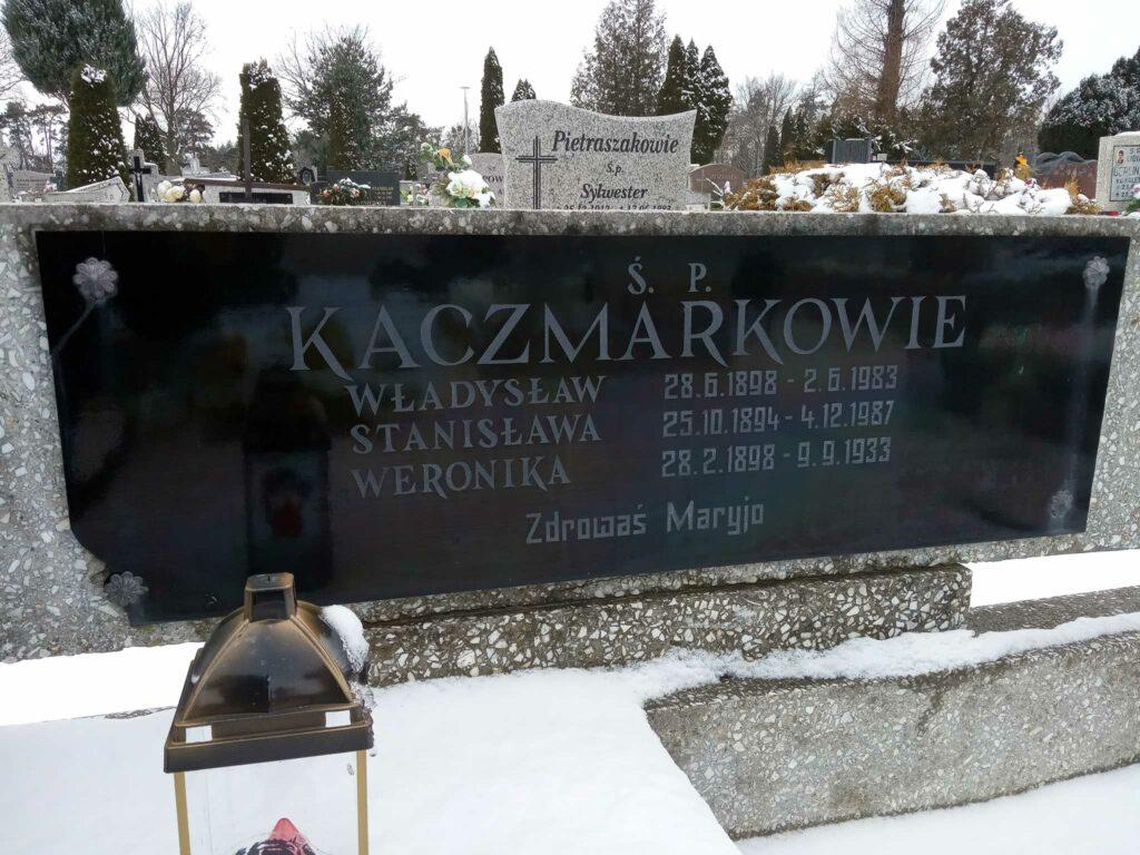 Władysław Kaczmarek - cmentarz komunalny we Wrześni   (zdjęcie udostępnił Remigiusz Maćkowiak)