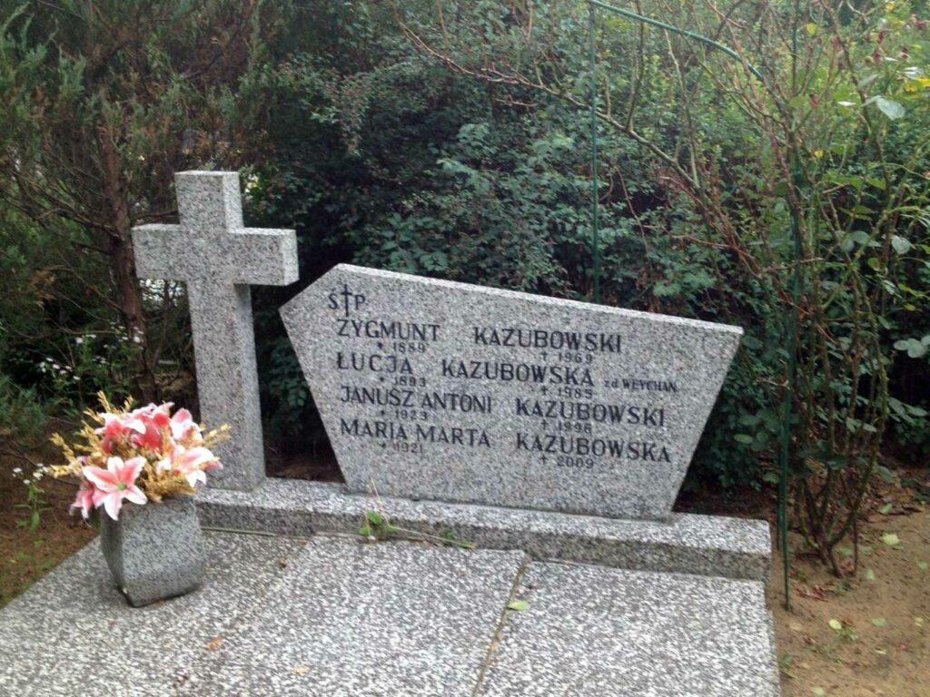 Zygmunt Kazubowski - cmentarz Junikowski w Poznaniu