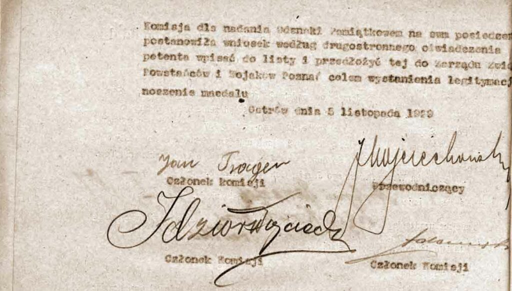 Banaszak Antoni - Deklaracja do Medalu Polska Swojemu Obrońcy