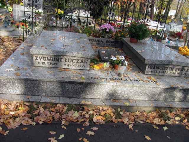 Franciszek Rewers - cmentarz komunalny w Półwsi Opole