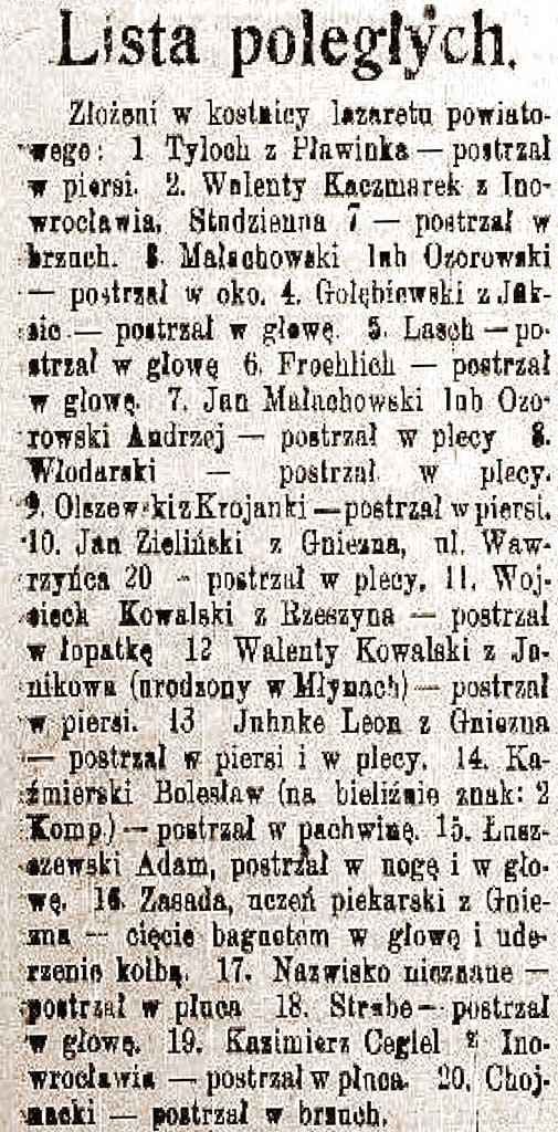 Jan Chojnacki - Dziennik Kujawski. 1919, R. 27 nr 5 (9 stycznia)