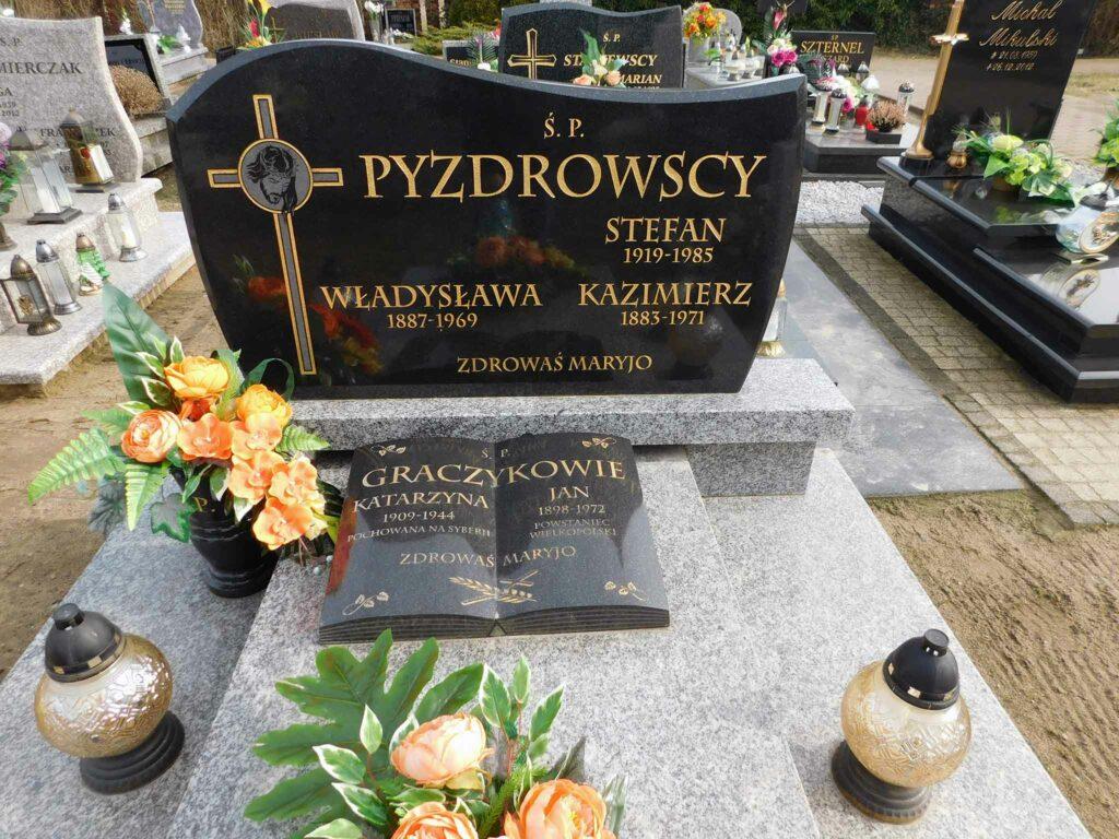 Jan Graczyk - cmentarz w Miłosławiu (zdjęcie udostępnił Remigiusz Maćkowiak)