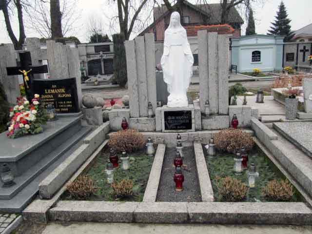 Jan Ostojski - cmentarz w Kepnie