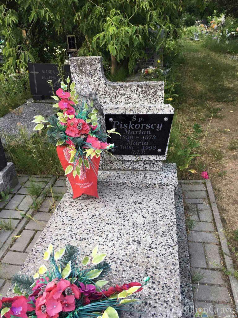 Marian Piskorski - cmentarz junikowski w Poznaniu