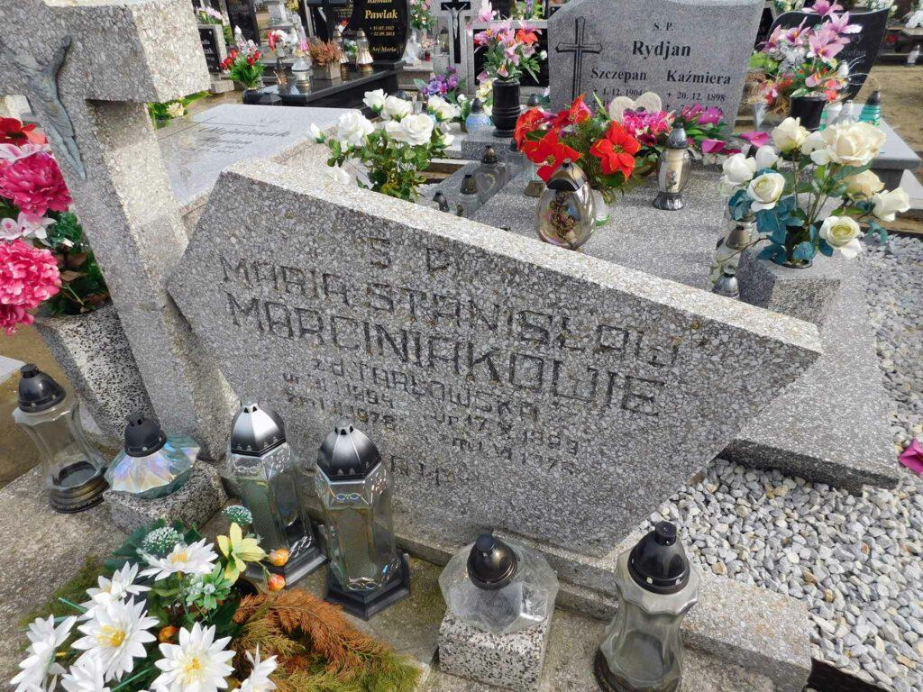 Stanisław Marciniak - cmentarz w Miłosławiu (zdjęcie udostępnił Remigiusz Maćkowiak)