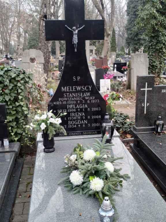 Stanisław Melewski - cmentarz na Jeżycach