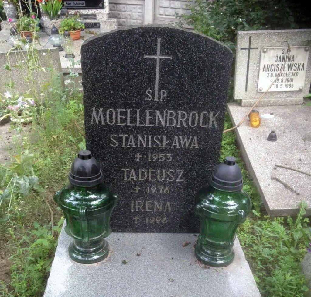 Tadeusz Maksymilian Moellenbrock - cmentarz górczyński w Poznaniu