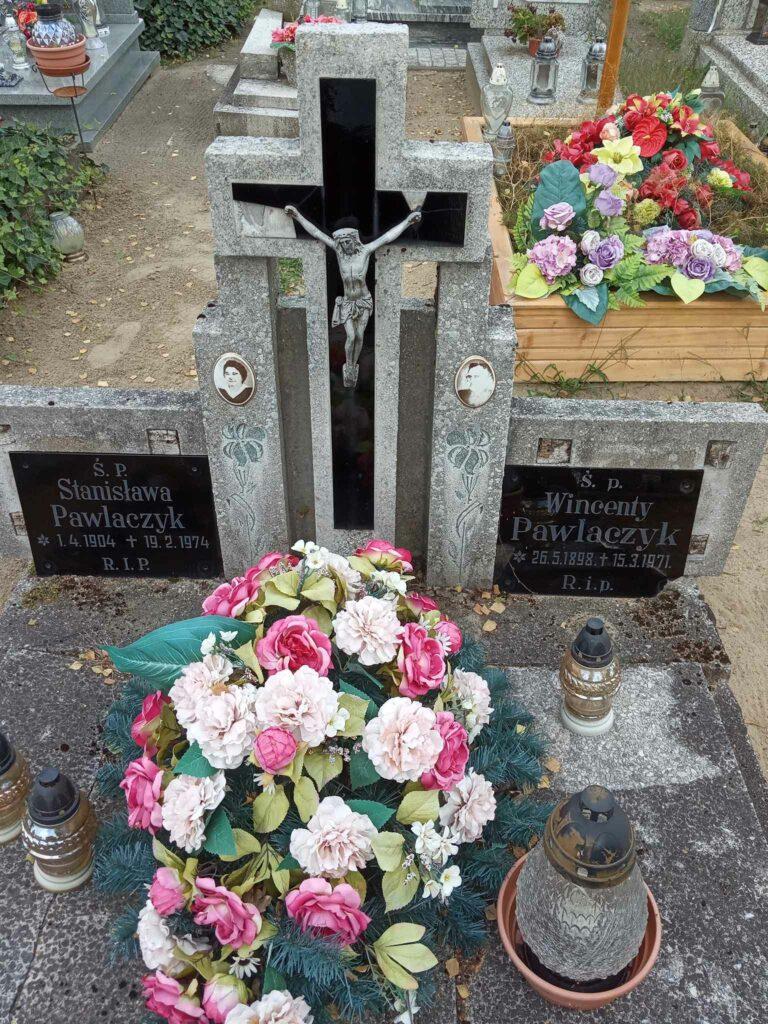 Wincenty Pawlaczyk - cmentarz komunalny we Wrześni (zdjęcie udostępnił Remigiusz Maćkowiak)