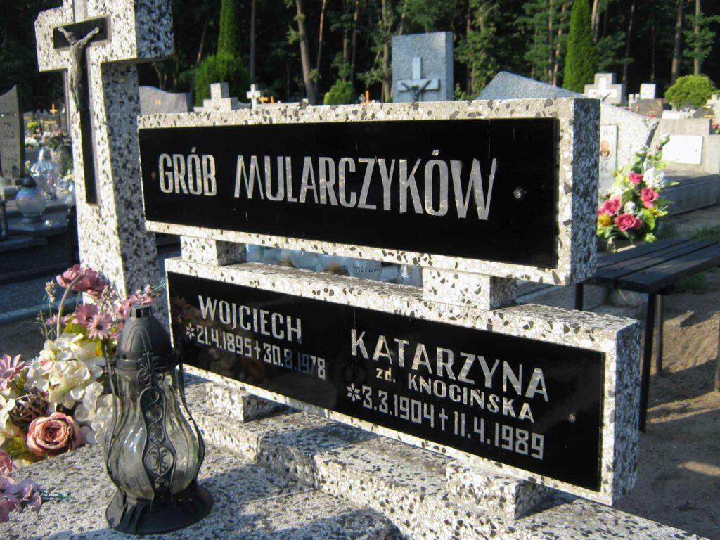 Wojciech Mularczyk - cmentarz komunalny we Wrześni (zdjęcie udostępnił Remigiusz Maćkowiak)