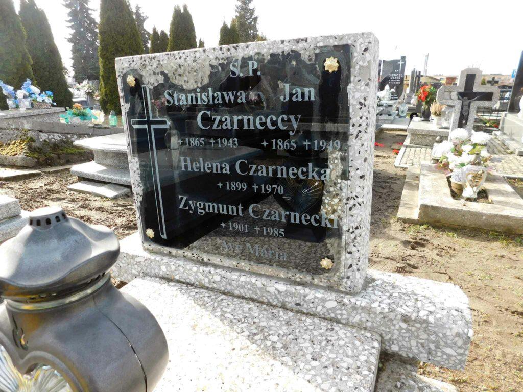 Zygmunt Czarnecki - cmentarz w Miłosławiu (zdjęcie udostępnił Remigiusz Maćkowiak)