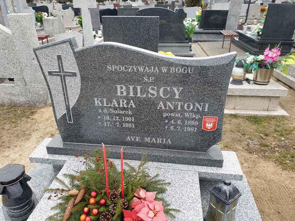 Antoni Bilski - cmentarz św. Wawrzyńca w Gnieźnie