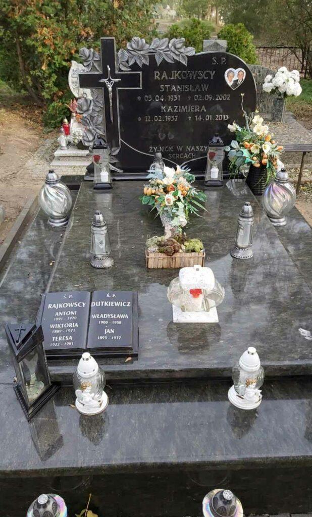 Antoni Rajkowski - cmentarz w Zielińcu