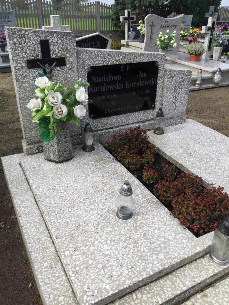 Jan Koralewski - cmentarz we Wszemborzu