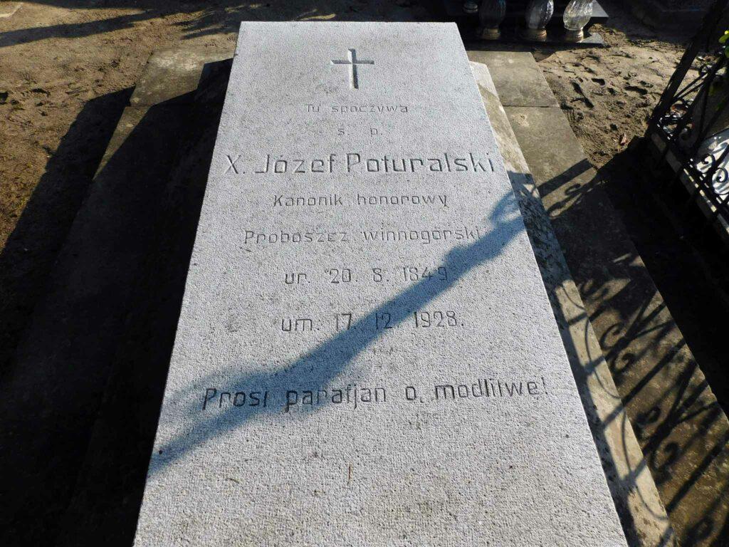 Józef Poturalski - cmentarz w Winnej Górze (zdjęcie udostępnił Remigiusz Maćkowiak)