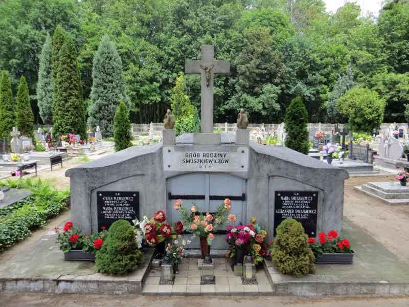 Stefan Plewkiewicz - cmentarz w Słupcy