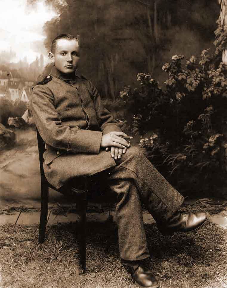Wincenty Jakubowski z okresu Powstania Wielkopolskiego (zdjęcie udostępnił Tomasz Jakubowski)