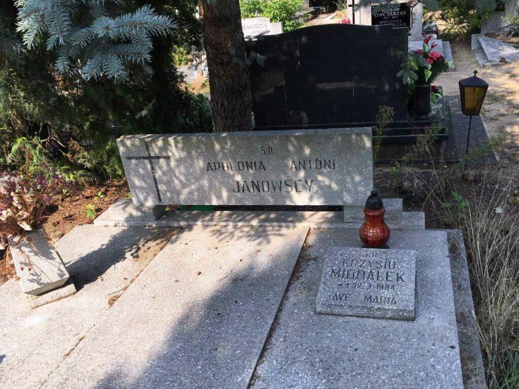Antoni Janowski - cmentarz junikowski w Poznaniu