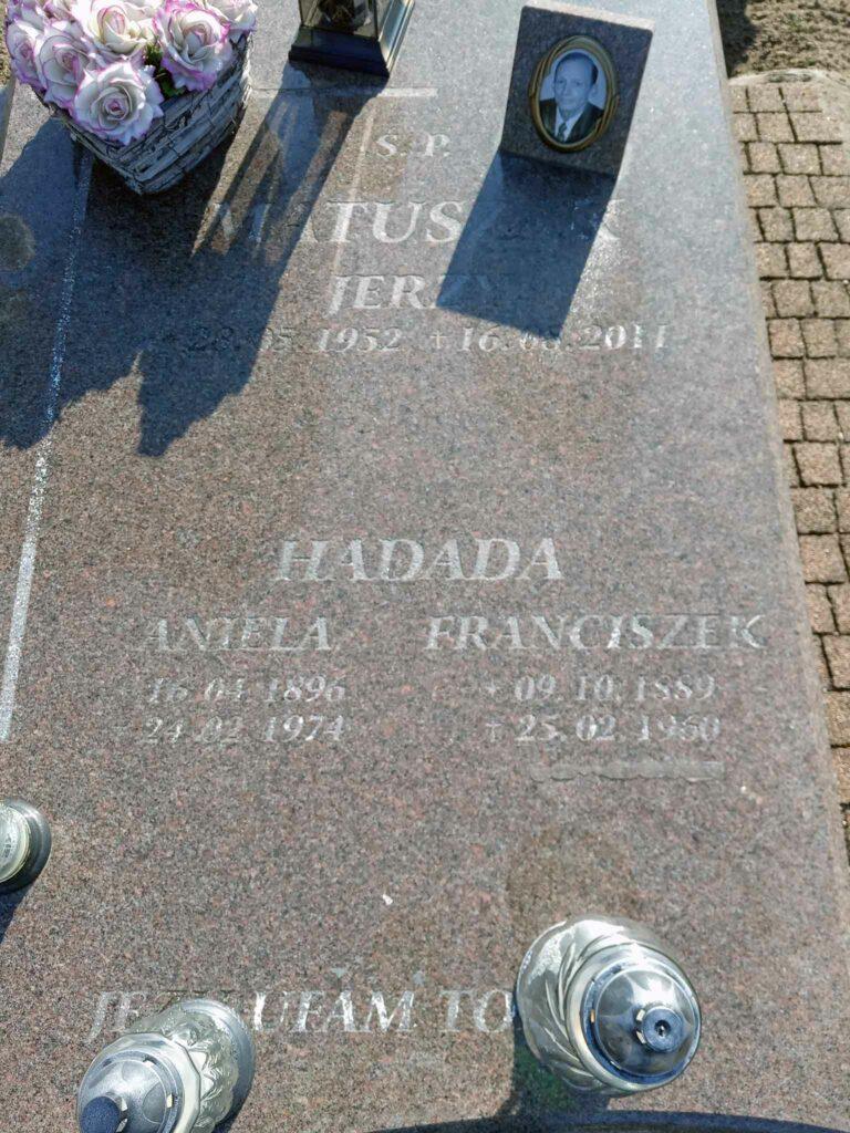 Franciszek Hadada - cmentarz parafialny w Nekli