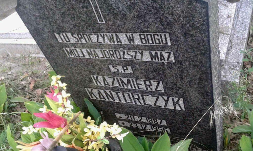 Kazimierz Kantorczyk - cmentarz na Miłostowie
