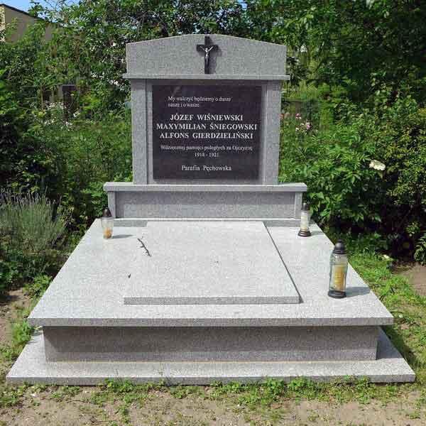 Maksymilian Śniegowski -  cmentarz w Pęchowie