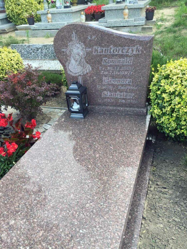Stanisław Kantorczyk - Cmentarz parafialny w Lubięcinie